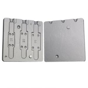 Cast for lead plate 20-30-40 grams N 0170