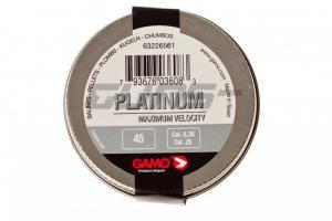 Air gun pellets Gamo Platinum 6.35 mm 45 pcs