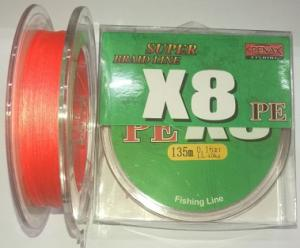 Line PENAX X8 orange 0.08 mm