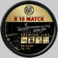 RWS R10 Match cal 4.5 mm 500 pcs 0.53 grams