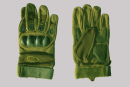 Tactical Protective with fingers green