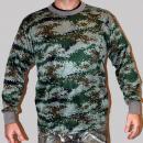 Hunting Clothes shirt MI camo long
